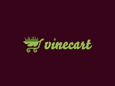 Vinecart vine wine leaf green cart shop