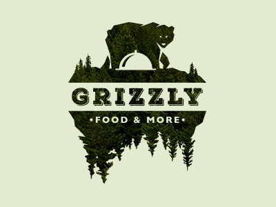 Grizzly Food & More green wildlife mountain wild fir nature fast-food more restaurant food bear grizzly