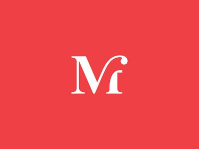 Mihai Frankfurt - personal monogram personal mark branding initials logo monogram
