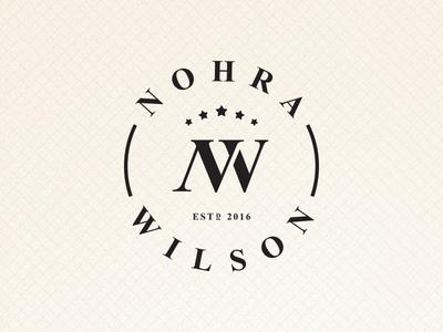 Nohra Wilson - Logo proposal seller sale strategies marketing liquor wine monogram symbol mark logo