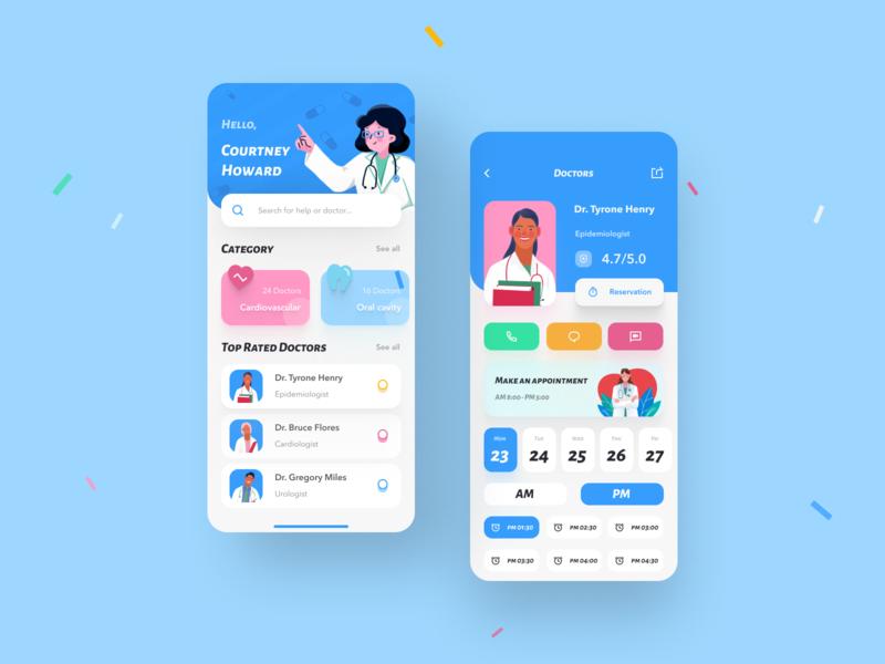 Telemedicine App UI