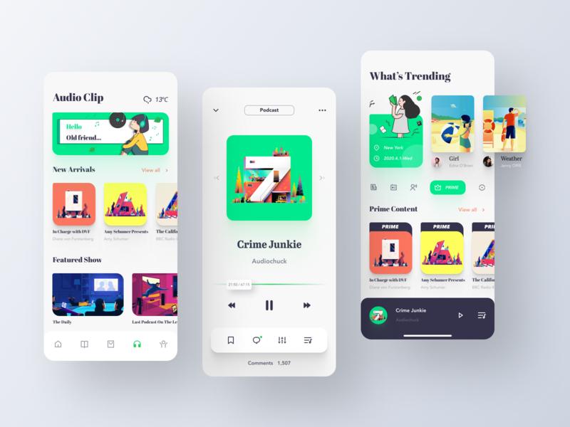 Library App Design-Podcast