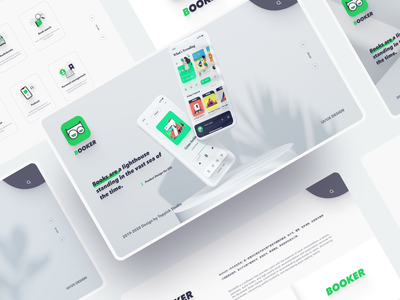 Library App Branding mobile app design mobile figma website brandbook branding design reading app typography branding illustration clean app icon 2020 ui design ux