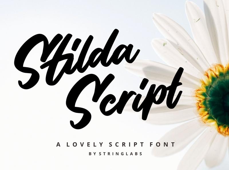 Stilda - Lovely Script Font