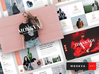 Moskva - Fashion & Hypebeast PowerPoint Template