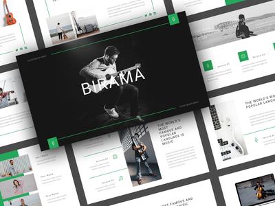Birama - Music PowerPoint Template