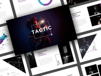 Tactic - Creative PowerPoint Template