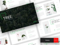 Tree - Green Energy PowerPoint Template