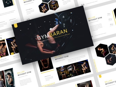 Gymbaran - Gym PowerPoint Template