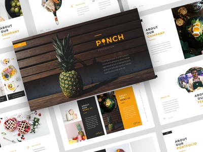 Pinch – Food PowerPoint Template