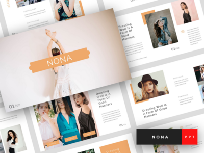 Nona - Fashion PowerPoint Template