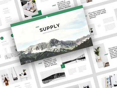 Supply - Creative PowerPoint Template