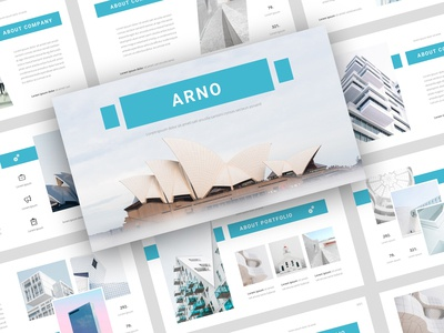 Introducing Arno – Architecture PowerPoint Template