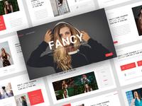 Fancy – Fashion PowerPoint Template