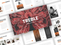 Treble – Music PowerPoint Template