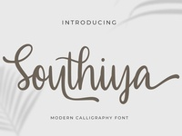 Southiya - Modern Calligraphy Font
