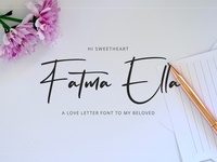 Flavellya - Luxury Signature Font