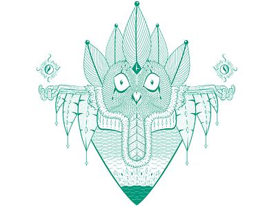 Totem of wisdom fantasy owl totem wisdom