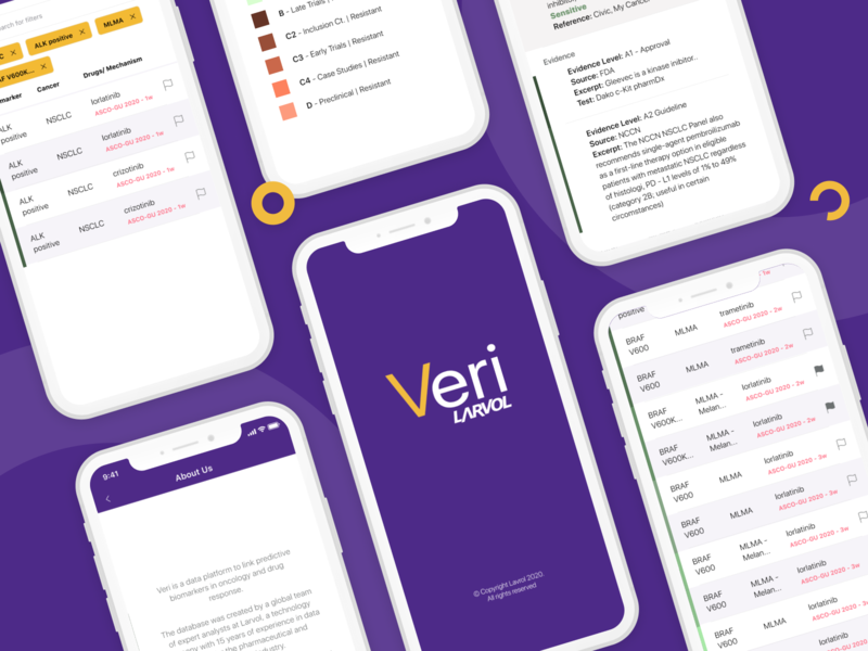 Veri Larvol Mobile App