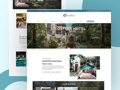 Ecosfera Hotel Bali ux ui design