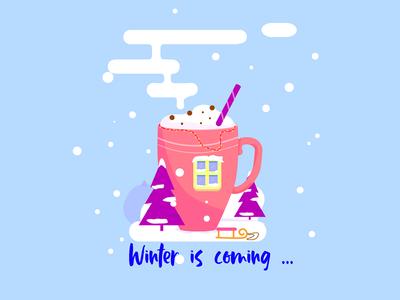 Winter art