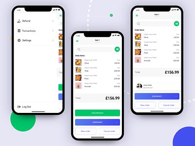 Order Page ux app app design ui design