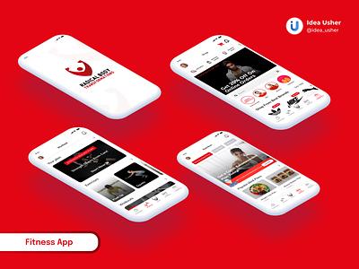 Fitness App fitness app design fitness app ui fitness tracker fitness center fitness club fitness logo fitness app fitness icon application app design ui  ux typography ux app design app concept ui