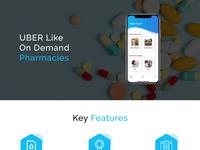 Uber Like On Demand Pharmacy App