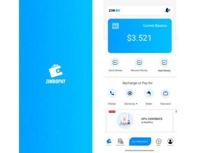 Concept Design For Wallet App