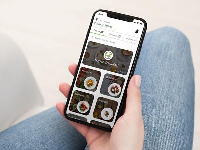 Restaurant Mockup app branding best food ordering apps design illustration app concept ui
