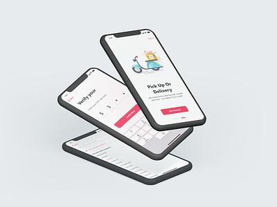 Food and Restaurant Application ui ux illustration app dashboard best food ordering apps design app concept