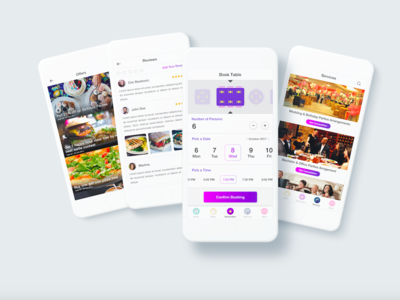 Restaurant and Reservation App