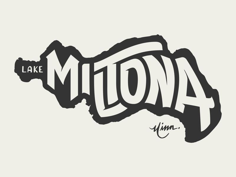 Lake Miltona for Lakes Supply Co.