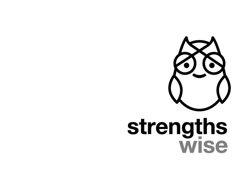 Logo strengthswise owl