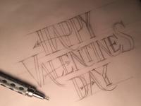 Happy Valentines Day Rough