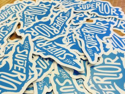 Lake Superior stickers!