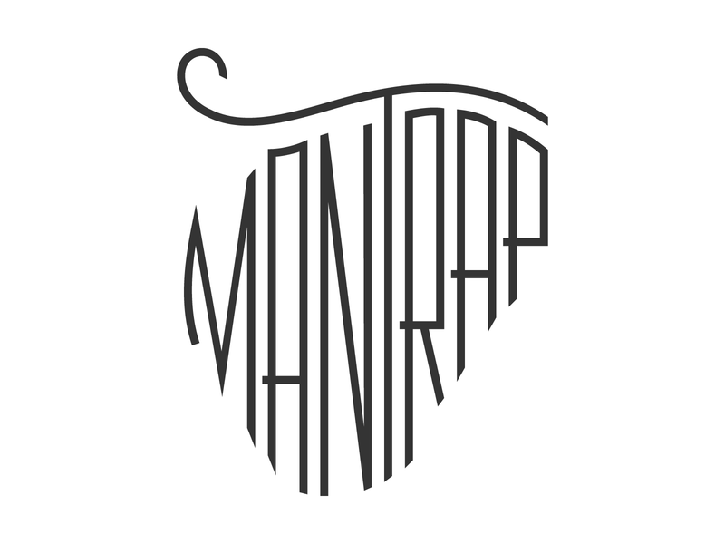 Mantrap Lake MN mn mantrap lake mantrap shirt illustration apparel t-shirt outdoors minnesota lake handlettering fishing hand lettering