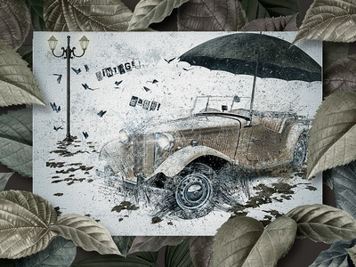 Vintage car 2