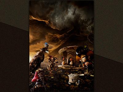 FAMILY BUSINESS photomanipulation digital art graphic design print compositing photomontage affiche poster illustration art numerique photoshop