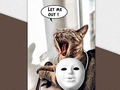 Crise de confinement design graphic design photomanipulation psd affiche print poster photomontage compositing photoshop