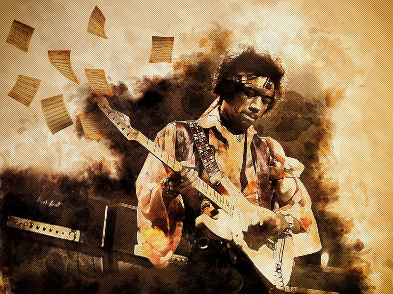 HENDRIX  Long live rock !