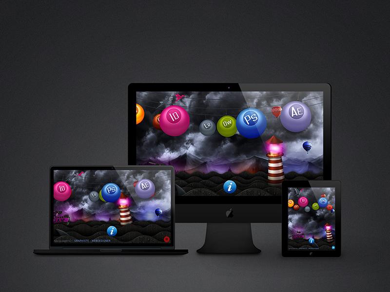 fm creations svg animation css animations css 3 jquery javascript parallax website webdesign web