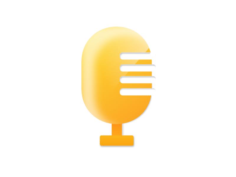 Mic OR Paino sketchapp art logo music icon artwork