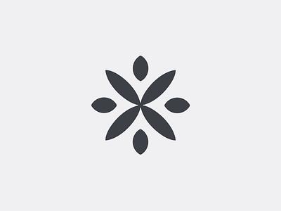 Flower senses letter x leafs flower
