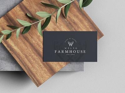 Welsh Farmhouse Branding branding logo design illustration