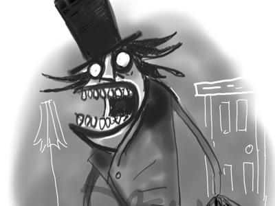 Babadook babadook sketch sketchbook pro illustration