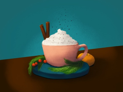 coffee photoshop adobe art illustration