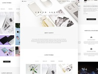 Creed Agency Portfolio HTML Template