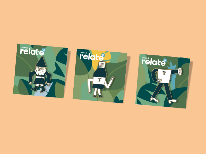 Relate 2018 swag