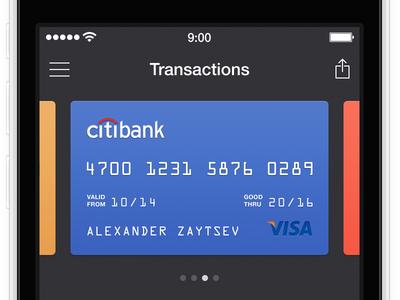 [WIP] Finance App